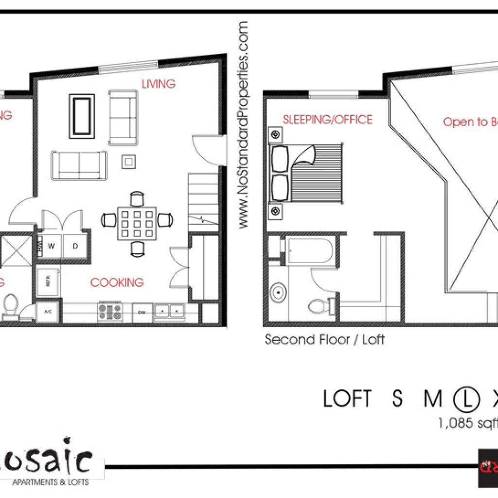 Apartments For Rent Mcallen Tx: Mosaic Loft L 1,080 Sq Ft
